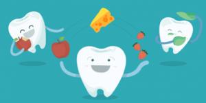 Топ-5 полезных для зубов продуктов